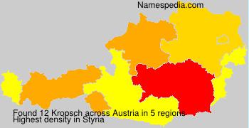 Surname Kropsch in Austria