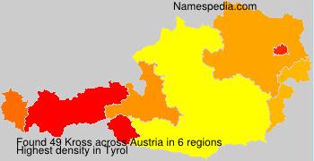 Surname Kross in Austria