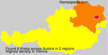 Surname Krska in Austria
