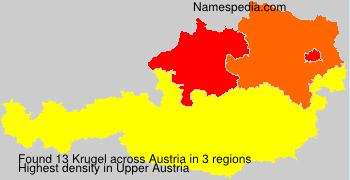 Surname Krugel in Austria