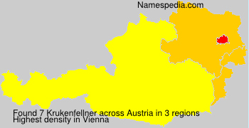 Surname Krukenfellner in Austria