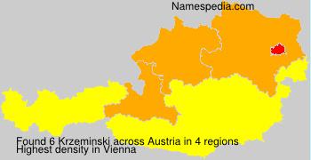 Familiennamen Krzeminski - Austria
