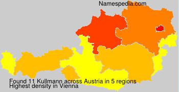 Surname Kullmann in Austria