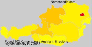 Surname Kumar in Austria
