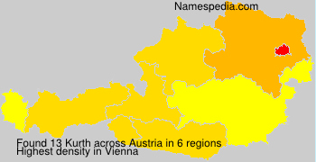 Surname Kurth in Austria