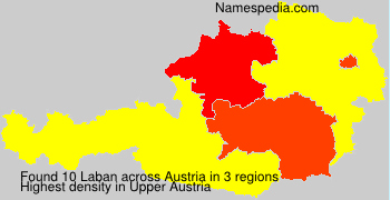 Surname Laban in Austria