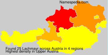 Familiennamen Lachmayr - Austria