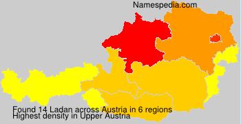 Familiennamen Ladan - Austria
