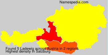 Surname Ladewig in Austria
