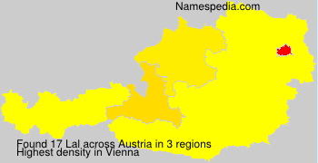 Surname Lal in Austria