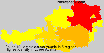 Surname Lamers in Austria