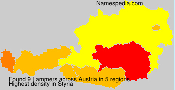 Surname Lammers in Austria