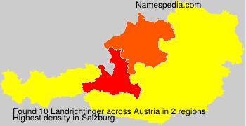 Surname Landrichtinger in Austria