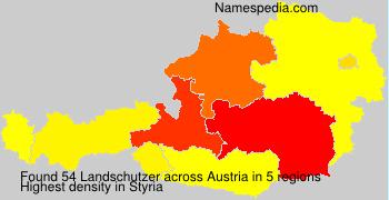 Surname Landschutzer in Austria
