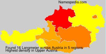 Surname Langmeier in Austria