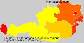 Surname Laser in Austria