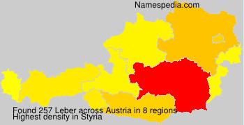 Surname Leber in Austria