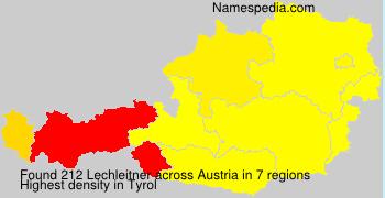 Familiennamen Lechleitner - Austria