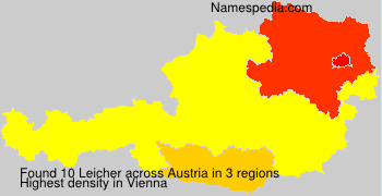 Surname Leicher in Austria