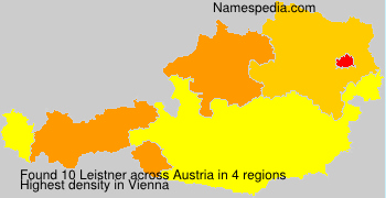 Surname Leistner in Austria