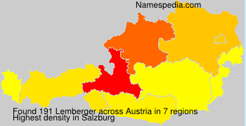 Surname Lemberger in Austria