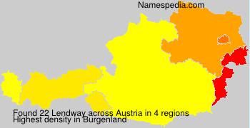 Surname Lendway in Austria