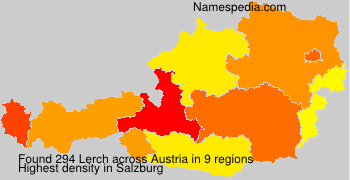 Surname Lerch in Austria