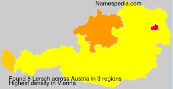 Familiennamen Lersch - Austria