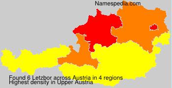 Familiennamen Letzbor - Austria