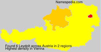 Surname Leydolt in Austria