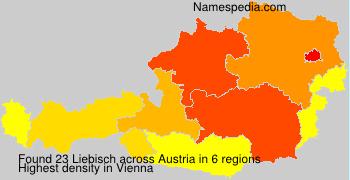 Familiennamen Liebisch - Austria