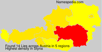 Surname Lies in Austria