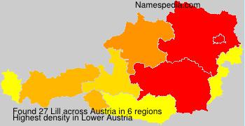 Surname Lill in Austria