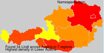 Familiennamen Lindl - Austria