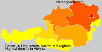 Surname Lingl in Austria