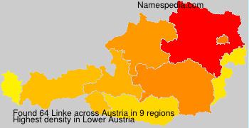 Surname Linke in Austria