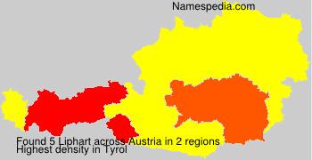 Surname Liphart in Austria