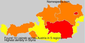 Surname Lipinski in Austria