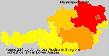 Familiennamen Loidolt - Austria