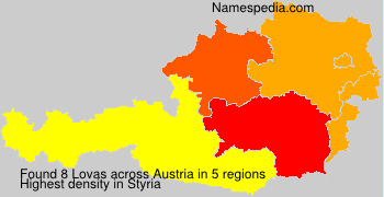 Surname Lovas in Austria