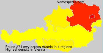 Surname Lowy in Austria
