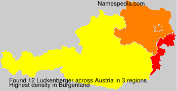 Surname Luckenberger in Austria