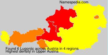 Surname Lugonjic in Austria