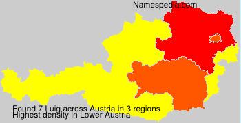 Surname Luig in Austria