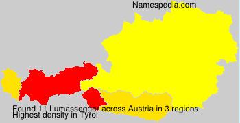 Surname Lumassegger in Austria