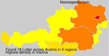 Surname Lutter in Austria