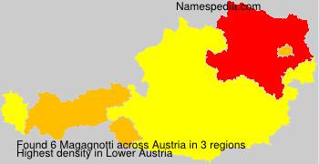 Surname Magagnotti in Austria