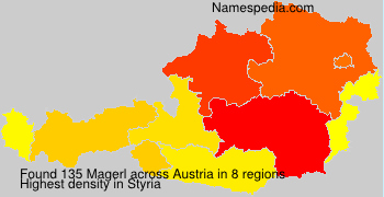 Surname Magerl in Austria