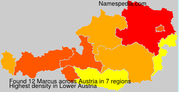 Familiennamen Marcus - Austria
