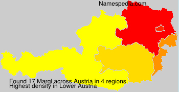 Surname Margl in Austria